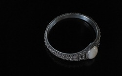 Chinese Granulated Silver Bracelet-2