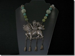 Chinese_Antique_Silver_Qilin_Necklace-1
