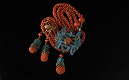 Chinese_Coral_Enamel_KingFisher_Set-1