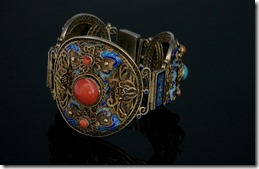 Chinese_Coral_Turquoise_Vermeil_Bracelet-0