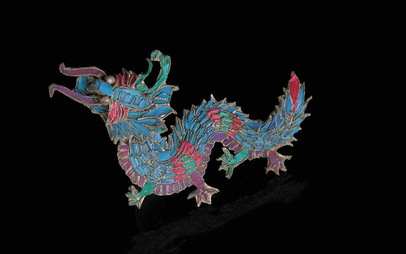 Chinese Kingfisher Jewelry