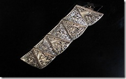 2-Chinese Silver 8 Immortals Bracelet