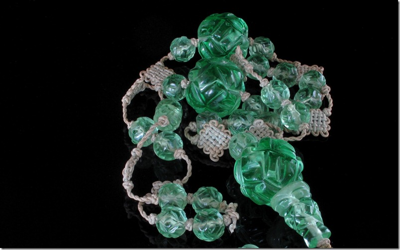 Chinese Peking Glass Beads