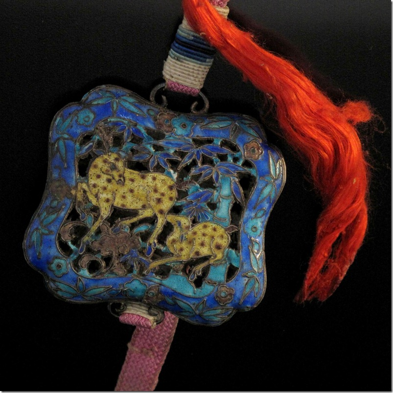 Chinese Mandarin Court Necklace Restoration Project