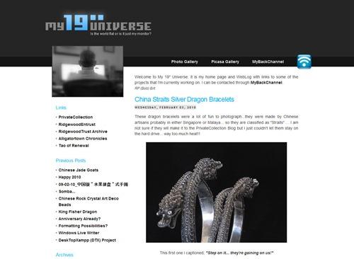 My 19 Universe- China Straits Silver Dragon Bracelets