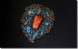 Chinese_Silver_Enamel_Coral_Broach-1